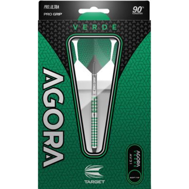 Target Agora Verde AV31 Soft Tip Darts - 18g