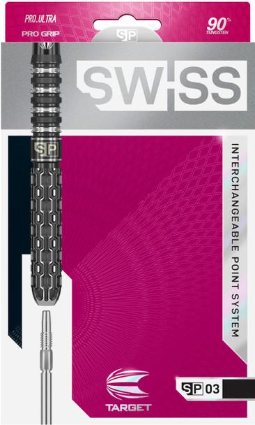 TARGET SWISS POINT SP03 STEEL TIP DARTS 23g