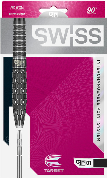TARGET SWISS POINT SP01 STEEL TIP DARTS 24g