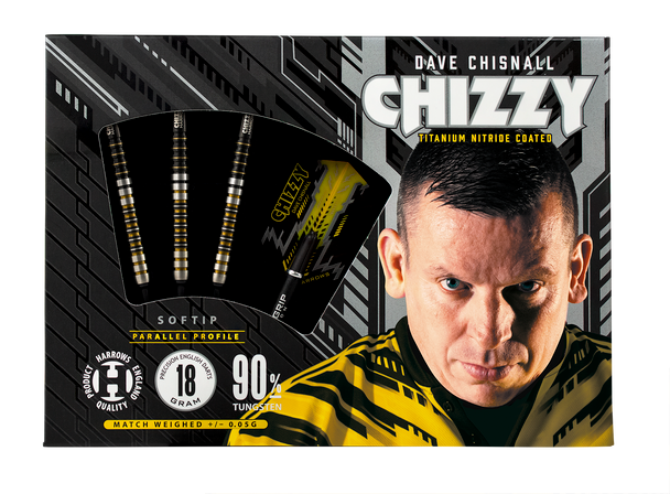Harrows CHIZZY - Dave Chisnall Soft Tip Darts 20g