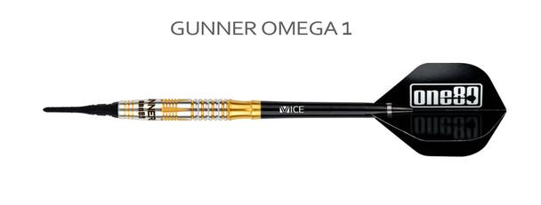ONE80 Gunner Omega Soft TIp Darts 20.5g