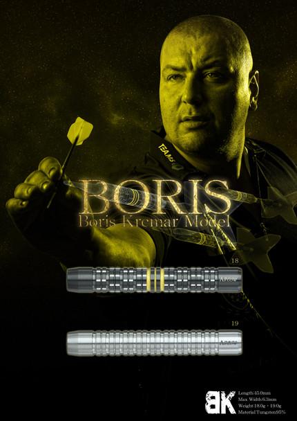 Dynasty A-Flow Boris Krcmar  Black Line Coated Soft Tip Darts 18g