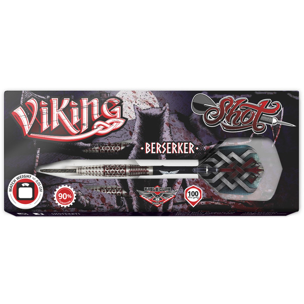 Shot Viking Berserker Steel Centre Weighted 25gm