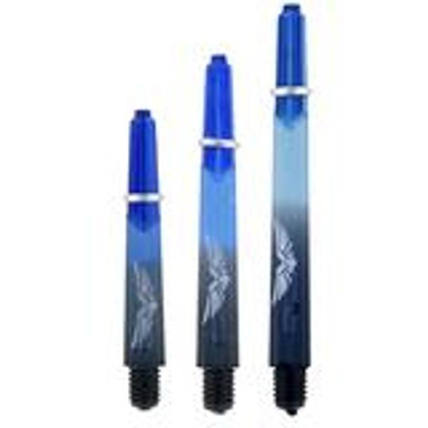 SHOT! Eagle Claw Dart Shafts (Inbetween) -Blue/Black