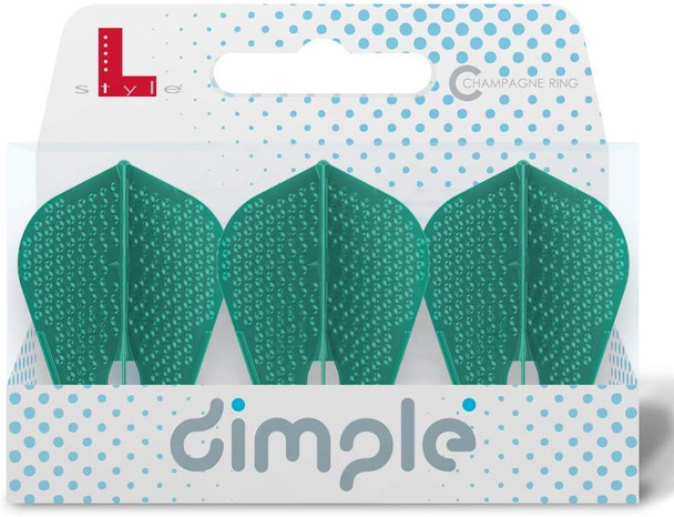 L-Style Flight Z L9d Dimpled Champagne Flights - Pacific Green