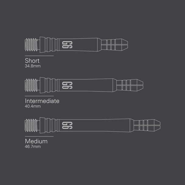 Power Titanium Gen 6 Shafts - Intermediate