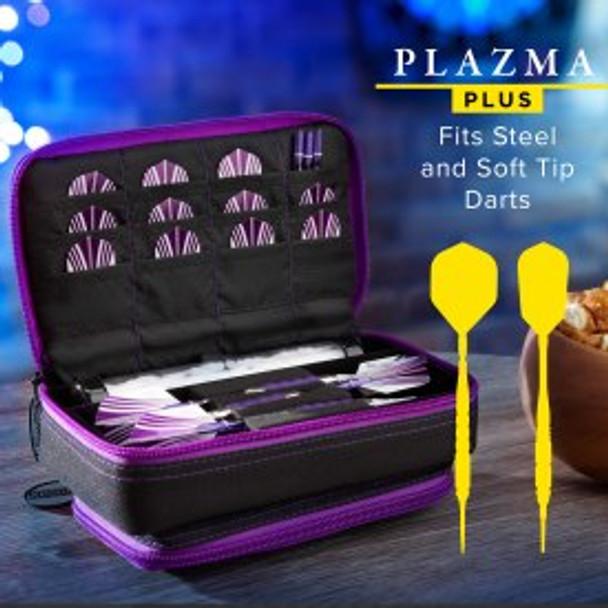Casemaster Plazma Plus Dart Case Black & Purple