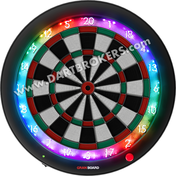 GRAN BOARD 3s Bluetooth Electronic Dartboard - Green Please Use the PRE ORDER Option at Check  Out