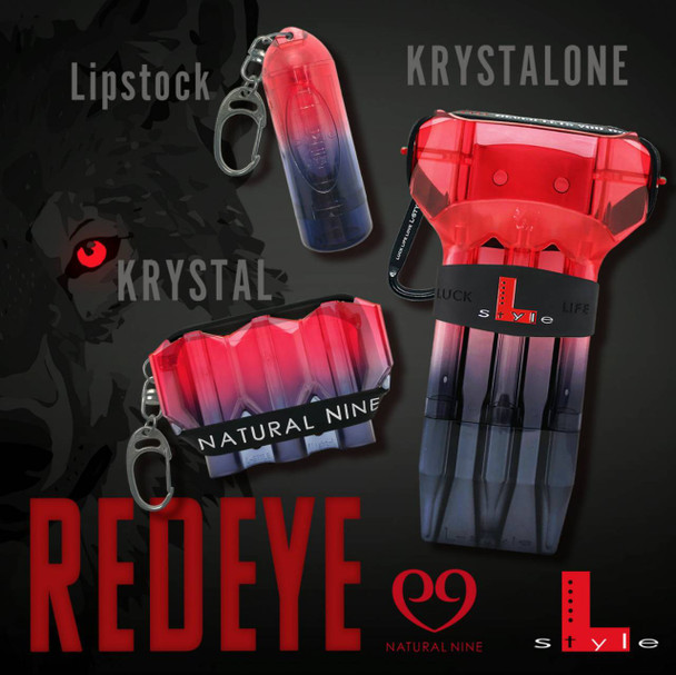 L-Style Krystal ONE Dart Case  Natural Nine RedEye