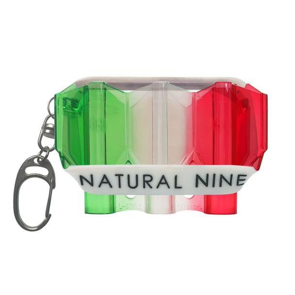L-Style Krystal Flight Case  Natural Nine Tri Color Suika
