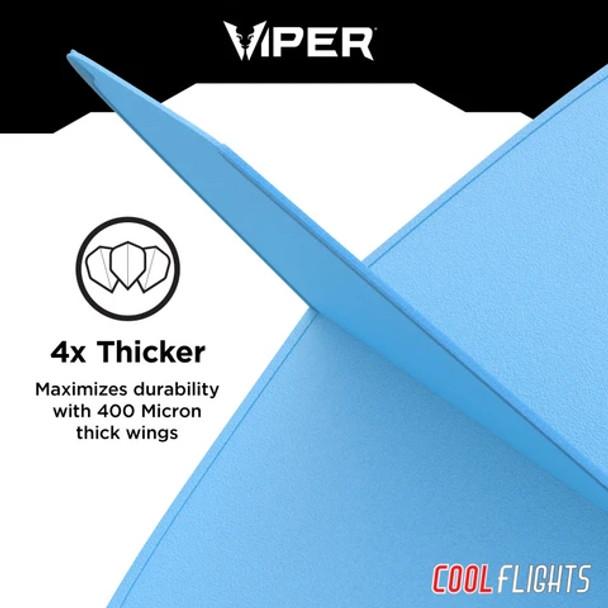 Viper Cool Flights Molded - Blue Standard