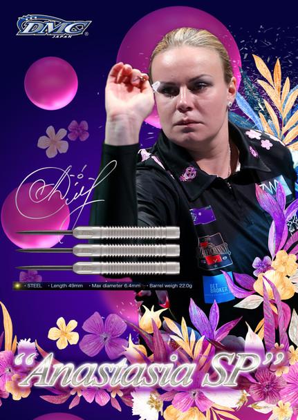 DMC Anastasia Dobromyslova 90% Steel Tip Darts - 22g