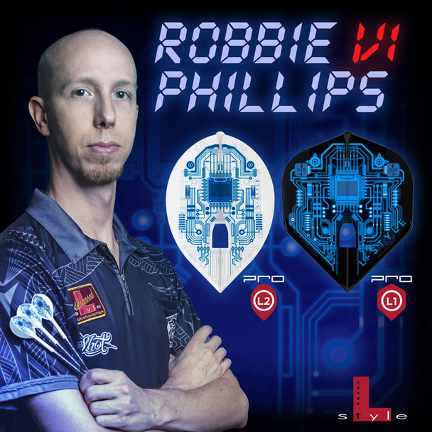 "L-style Robbie ""The Robot"" Phillips  L2 Pro Flights"