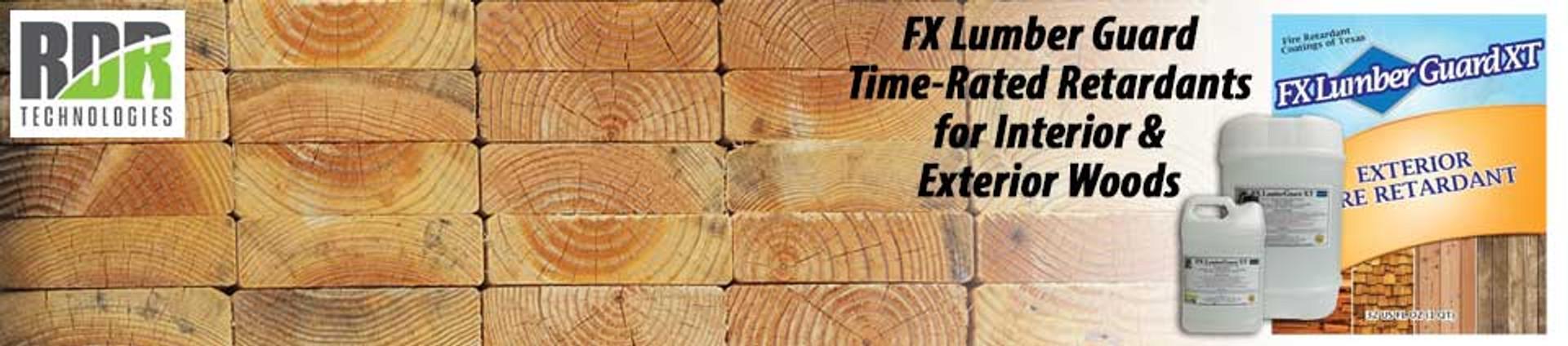 Fire Retardant for Wood | https://rdrtechnologies.com/