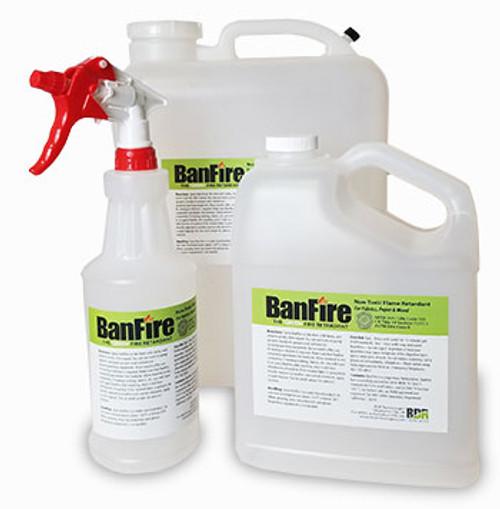 BanFire Fire Retardant Spray for Fabric (NFPA 701 & CalFire)