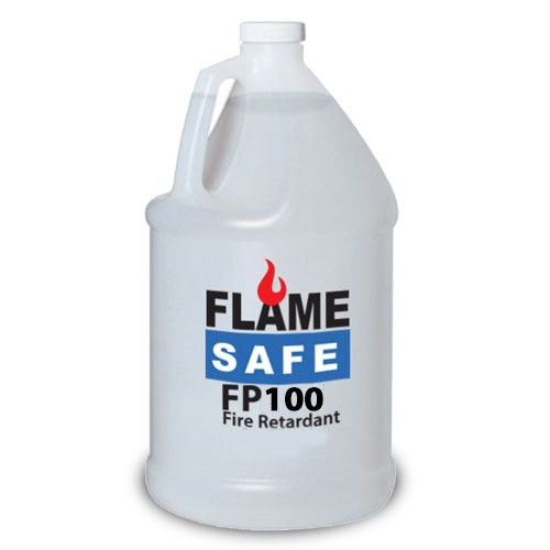 FP100 Fire Retardant Clear Coat - interior/exterior over painted surfaces