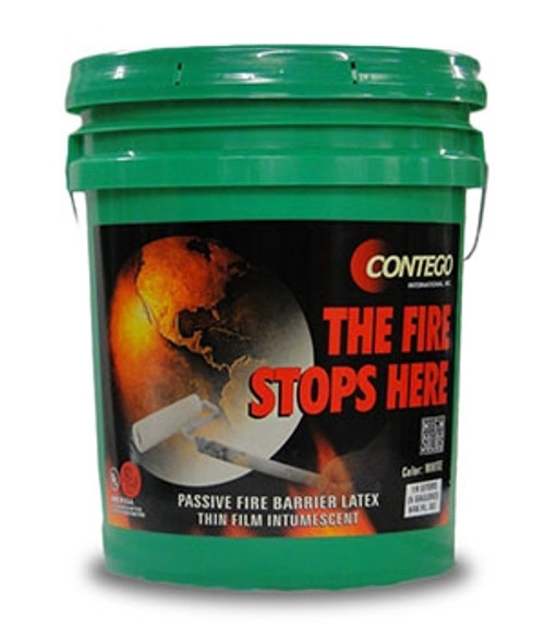 Contego High Solids fire retardant paint for steel