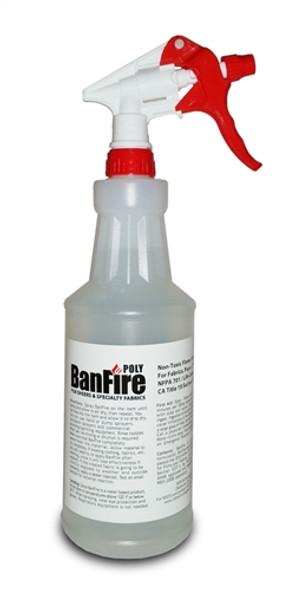 BanFire Poly Retardant for Sheer & Specialty Fabrics