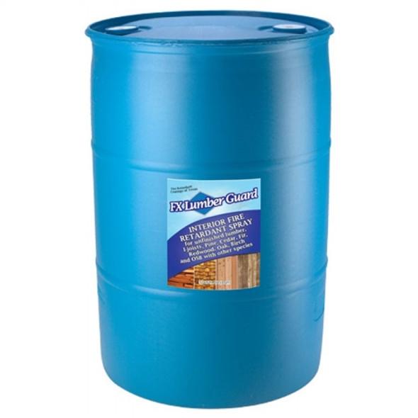 FX Lumber Guard retardant for Interior Wood - 55 gallon