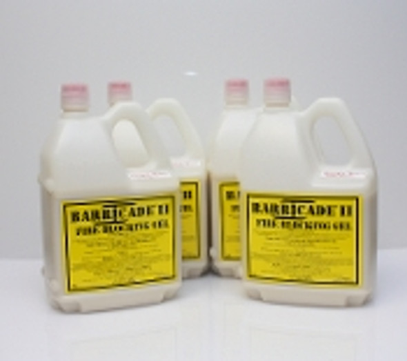 Barricade Fire Gel for home fire defense - 4 containers