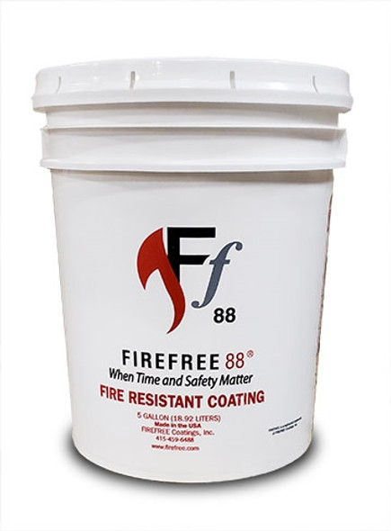 FireFree 88 Intumescent Paint for Time-Rated Assemblies & Drywall