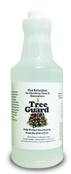 Tree Guard - Fire Retardant for Christmas Trees - 1 quart