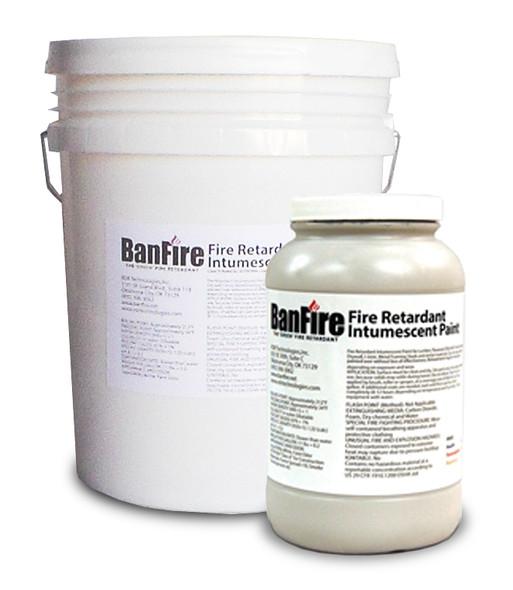 BanFire Intumescent Fire Retardant Paint