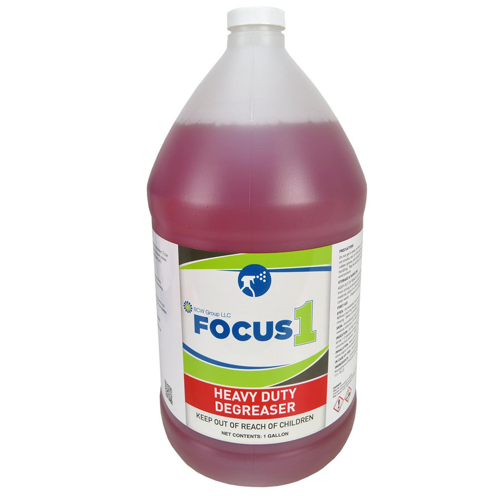 Focus1 Heavy Duty Degreaser - 4 Gallons per Case
