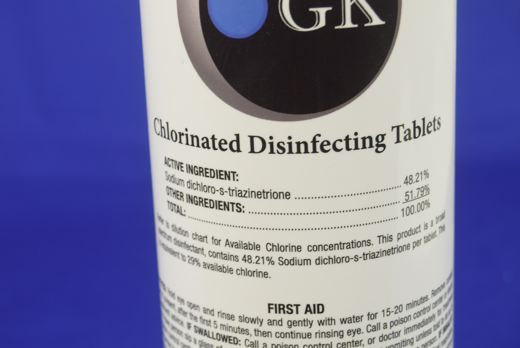 Green Klean Disinfecting Tablets ( 1 Bottle / 120 Tablets)