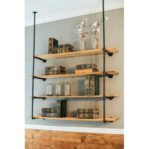 Open Pipe Shelving