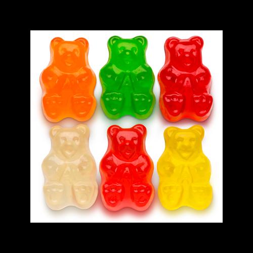 Assorted Fruit Gummi Bears