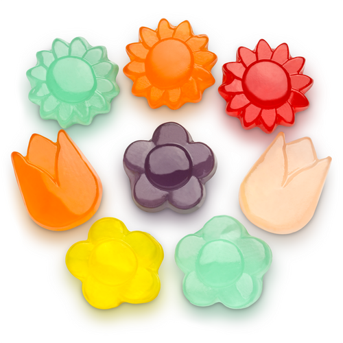Gummi Awesome Blossoms - 1 lb Bulk Package