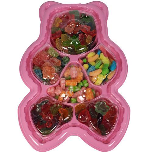 Gummi Bear Tray - Pink