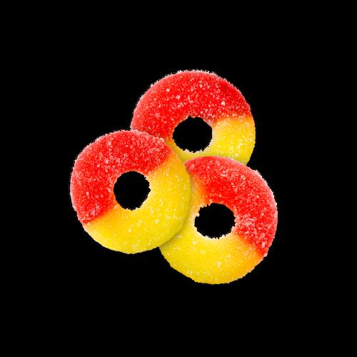 Gummi Strawberry-Banana Rings