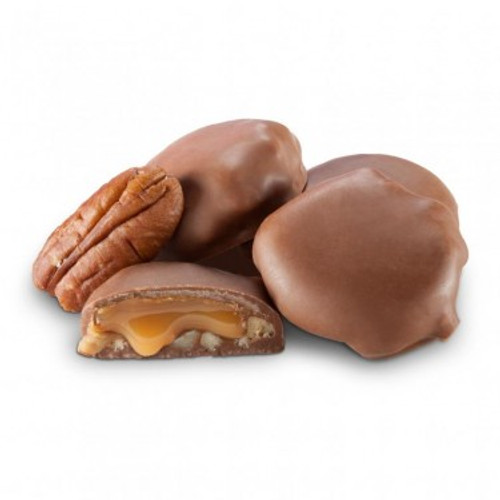 Milk Chocolate Mini Pecan Caramel Patties