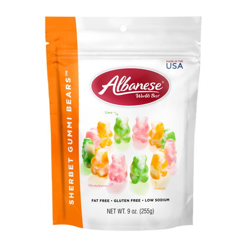 Sherbet Gummi Bears™ - 9 oz Resealable Bag