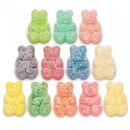 Sour 12 Flavor Gummi Bears® - 1 lb Bulk Package