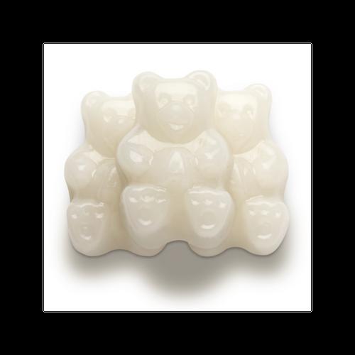 White Strawberry-Banana Gummi Bears