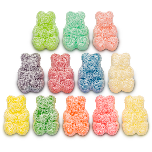 Sour 12 Flavor Gummi Bears® - 4.5 lb Bulk Package