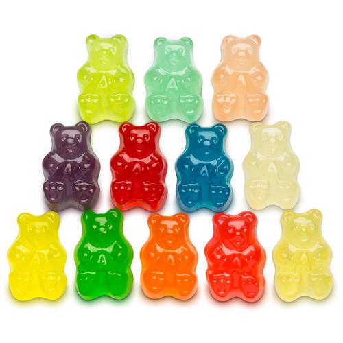 12 Flavor Gummi Bears® - 5 lb Bulk Package