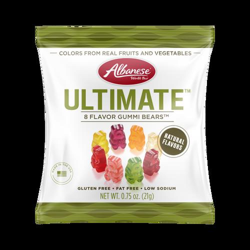 Ultimate™ 8 Flavor Gummi Bears™ - 0.75 oz Fun Size Bag