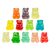 12 Flavor Gummi Bear Cubs™ - 1 lb Bulk Package