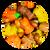 Autumn Peanut Party Mix