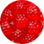 Berry Red Gummi Raspberries