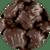 Dark Chocolate Mini Pecan Caramel Patties