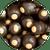 Dark Chocolate Peanut Butter Buckeyes