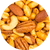 Hot Cajun Mixed Nuts - Roasted & Salted