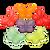 Large Gummi Butterflies