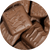 Milk Chocolate Giant Caramels