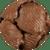 Milk Chocolate Giant Cashew Caramel Patties
